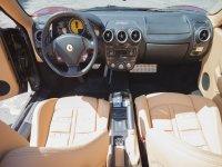 El interior del vehiculo