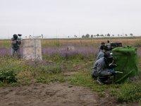Tomando posiciones en el campo