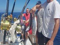 divertida jornada de pesca