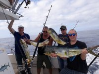 Jornada de pesca con grandes capturas