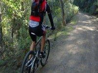 On Mountain Bike