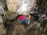 Climbing in dark areas