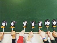 Pinguinos de papel
