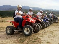Departing to the excursion by a quad