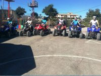 On the quads in the race track