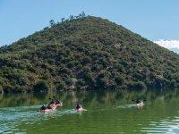En kayak por paraje protegido