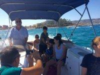 Excursiones en familia por el mar