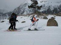 Esquí de travesía en Huesca