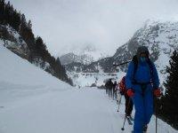 Rutas guiadas por la nieve