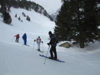 Excursiones con esquís