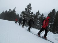Mountain skiing in Huesca