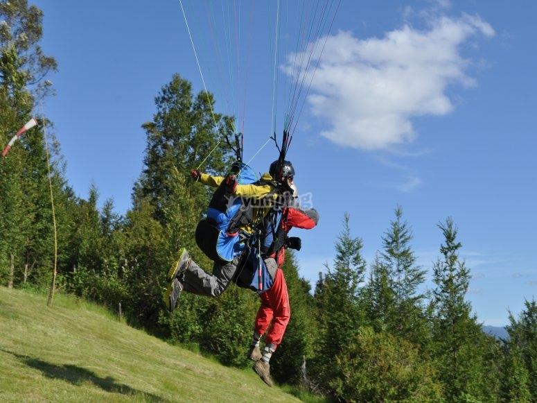 Paragliding class in Castejón de Sos