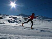 Deslízate sobre los esquíes