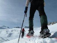 Aprende a andar en raquetas de nieve