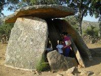 Viendo los dolmenes desde dentro