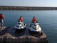 Motos nauticas en el Puerto de Almerimar