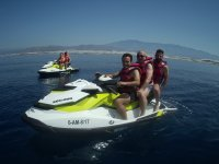 Salida en jetski en Almeria