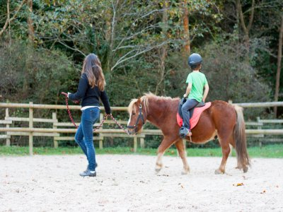 Specials horse riding for children 1h in Zestoa