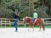 Equitazione bambini con ramaleo a Zestoa 1 h