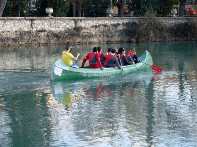 独木舟游览