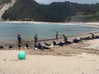 Imparare sulla spiaggia