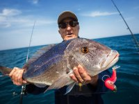 Captura tras la pesca en Denia