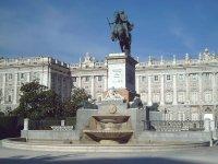 La plaza de Oriente madrilena