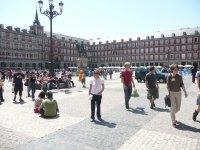 漫步的主要广场