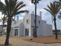 设施潜水中心在Formentera福门特拉岛标志