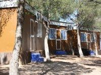 Alojamiento durante el campamento