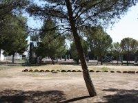 Exterior de las instalaciones del campamento