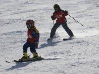 Clases de esquí en Valdesquí