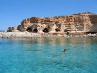 Paisaje en Formentera
