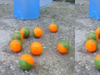 Bolas de pintura para el paintball