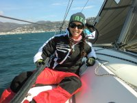 宜人的步行实践帆船帆船
