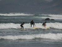 a por las olas a la vez