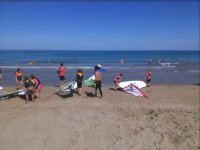 Sup on the beach of Pinar