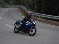 Conduccion de moto en carretera