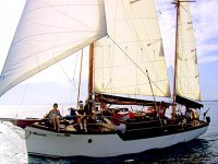 Barche completamente attrezzate