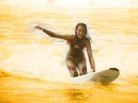 La diversion esta asegurada con el surf