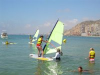 We teach you to be the best windsurfer