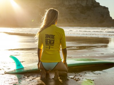 Langre Beach Paddle Surf