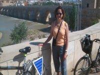 En el puente romano