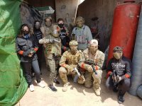 Airsoft team in Cartagena