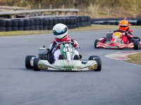 Karts in competition