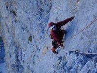 el escalador rojo