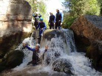 Canyoning on the Alcala River