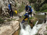Aquatic Rappel by groups
