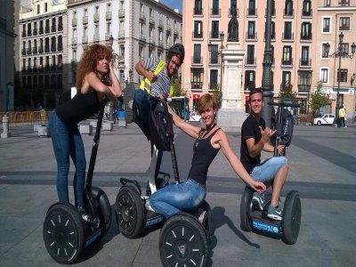 Ruta en segway por el Madrid emblemático. 1h