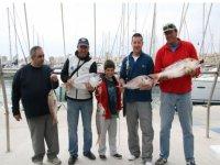 Posando con la pesca